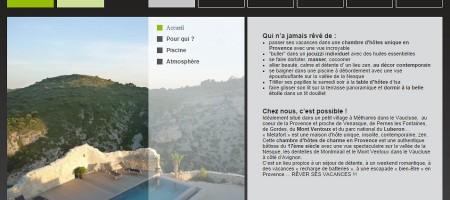 Découvrez la somptueuse maison d'hôtes de charme Metafort à Méthamis, dans le Vaucluse.